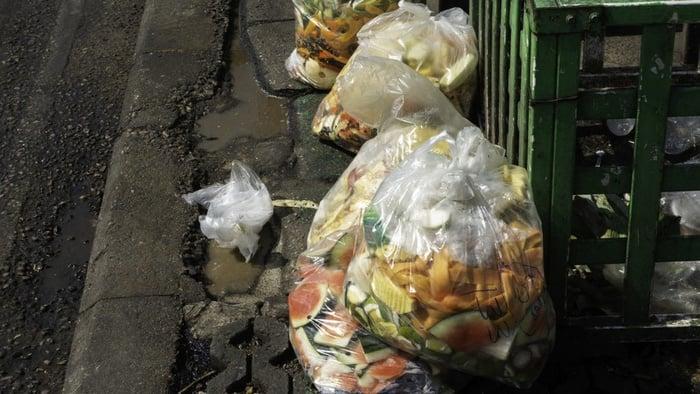 Ilustrasi Sampah makanan. FOTO/iStockphoto