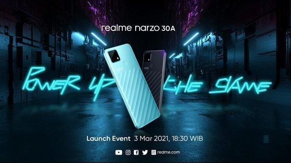 Realme Narzo 30A. foto/https://event.realme.com/