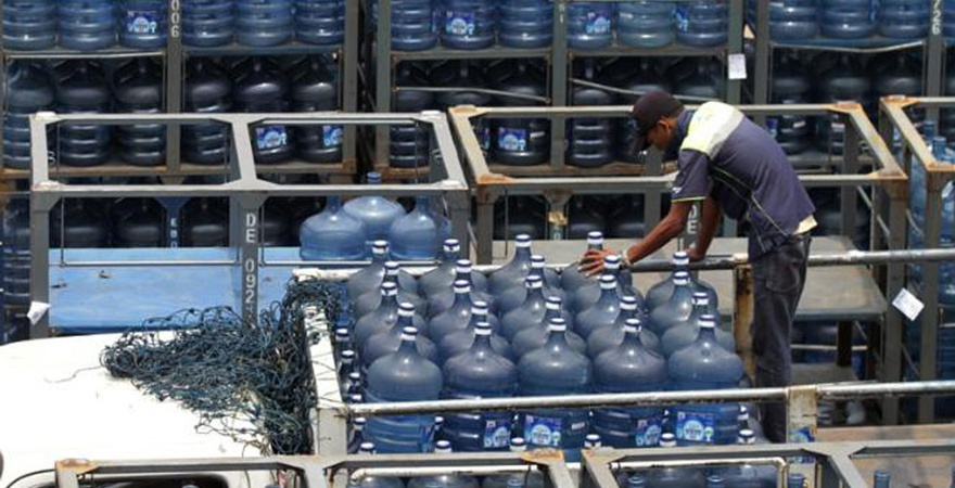 Air Minum Jakarta Mengalir dari Selatan