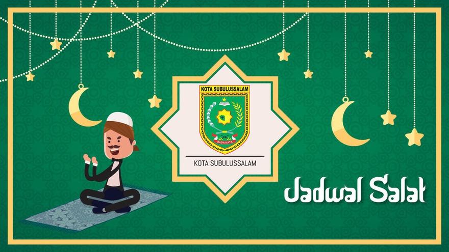Jadwal Sholat Oktober 2018 Di Kota Subulussalam Tirto Id