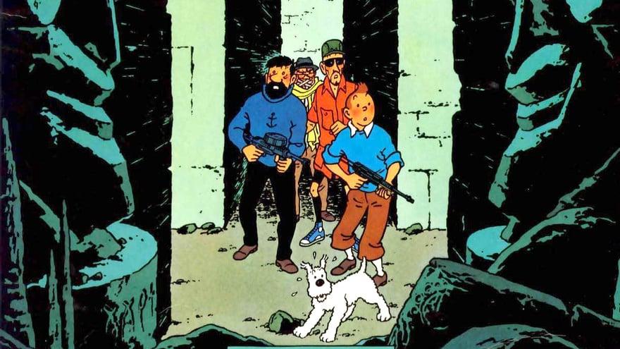 Petualangan Tintin di Indonesia