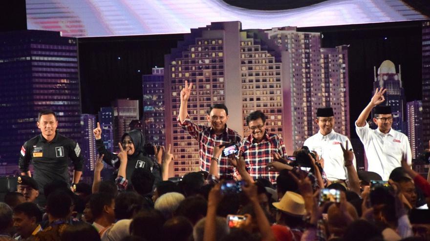 Penilaian Tiga Ketua Tim Sukses Pilkada DKI Atas Hasil Debat
