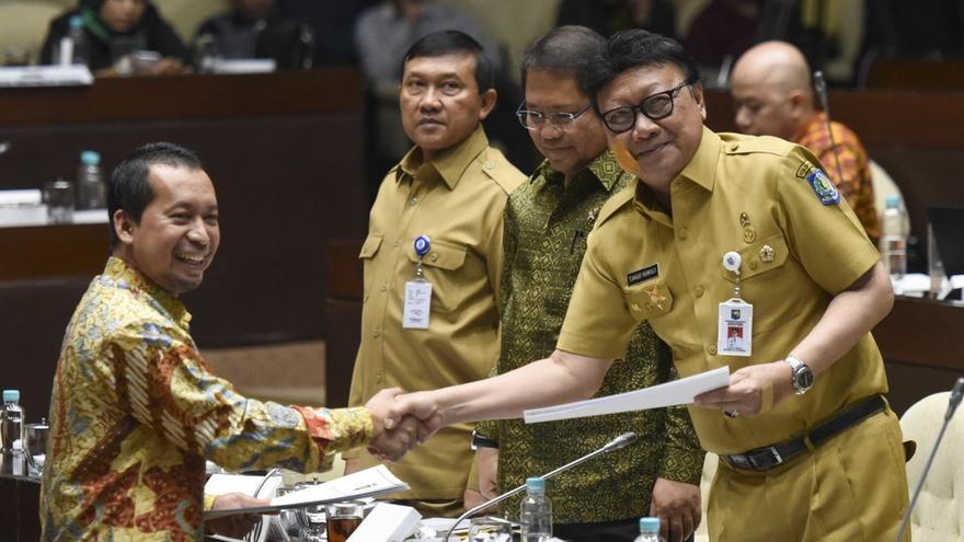Perppu Ormas: Gerindra Musyawarah, PKS Walk Out, PAN Situasional