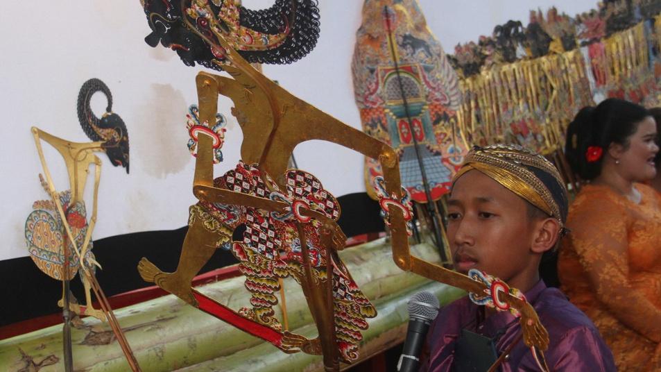 Parade Dalang Bocah