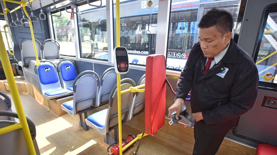 Penambahan Armada Transjakarta