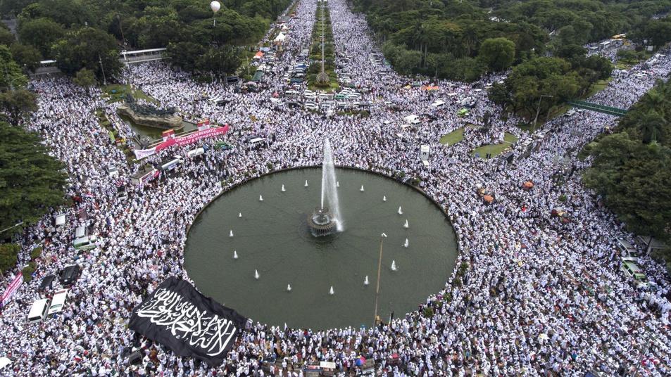 Zikir dan Doa Bersama aksi Bela Islam III
