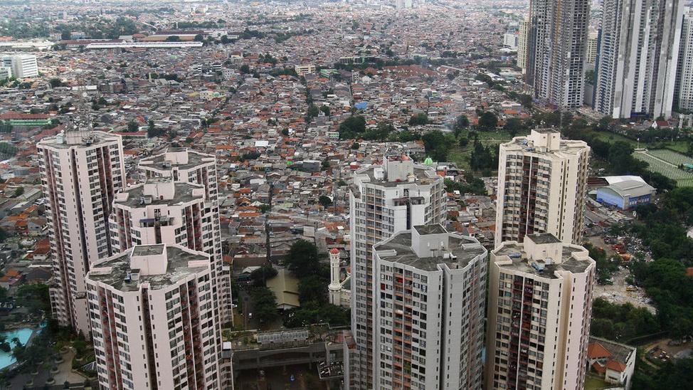 Potret Pemukiman Jakarta