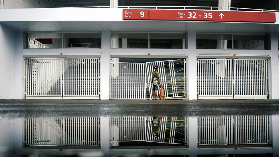 Kerusakan Stadion GBK