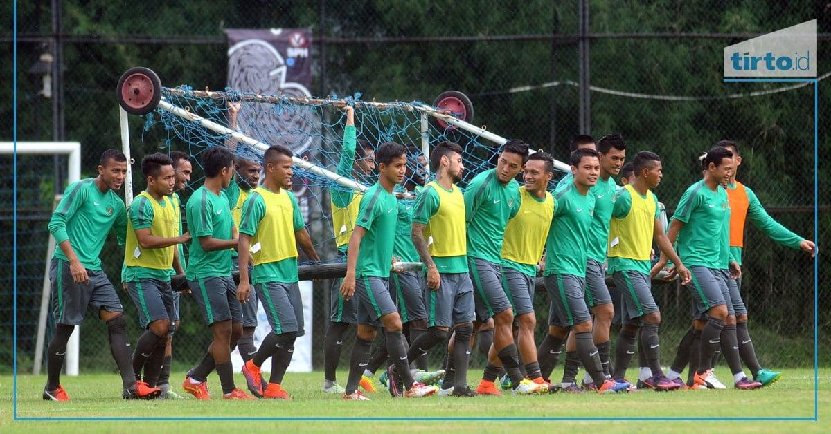 Daftar Pemain Timnas Senior Indonesia di Laga Lawan Fiji  Tirto.ID