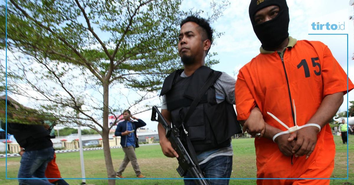 Terduga Pengikut Jaringan ISIS di Juanda adalah Kader PKS