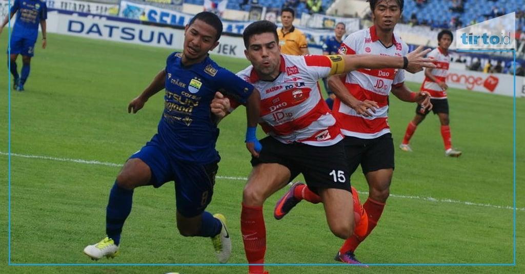 Hasil Akhir Madura United vs Barito Putera Skor 3-1 - Tirto.ID