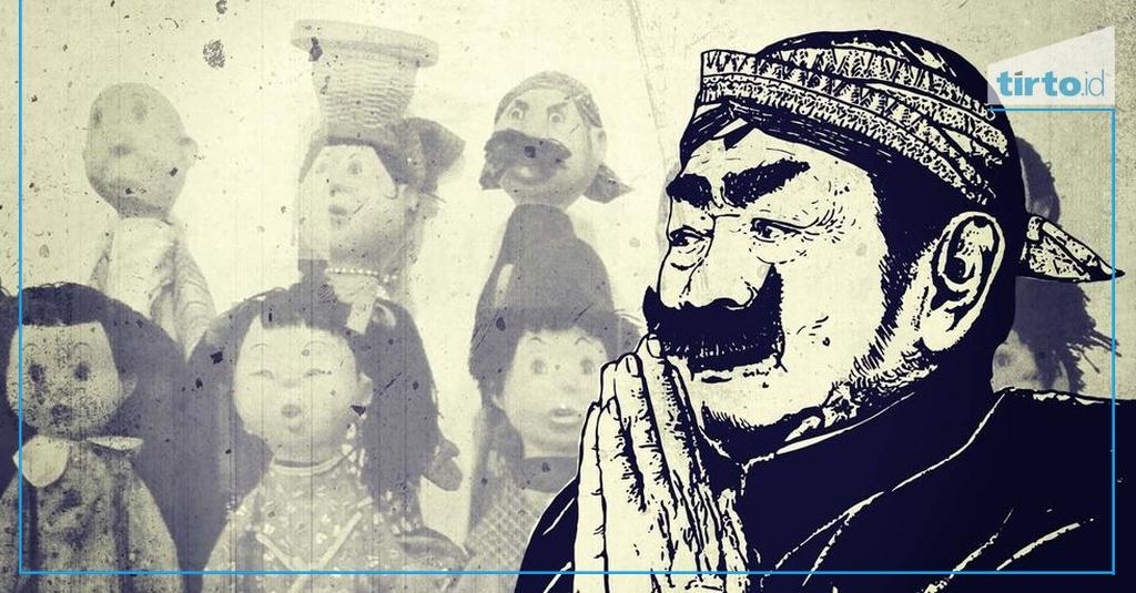 Sosok Pak Raden - Mozaik Tirto - Tirto.ID