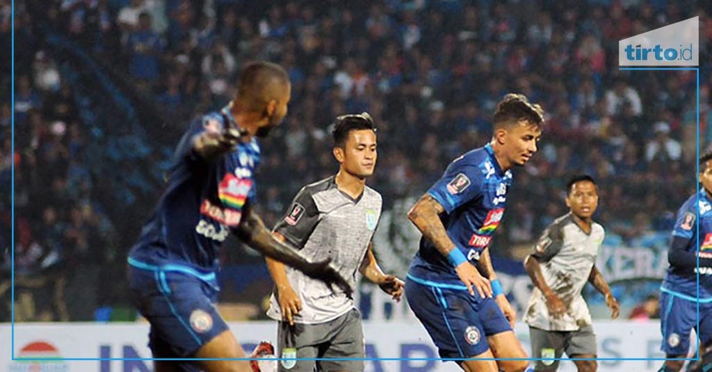 Arema Vs Indonesia: Hasil Arema FC Vs Mitra Kukar Skor Akhir 3-1