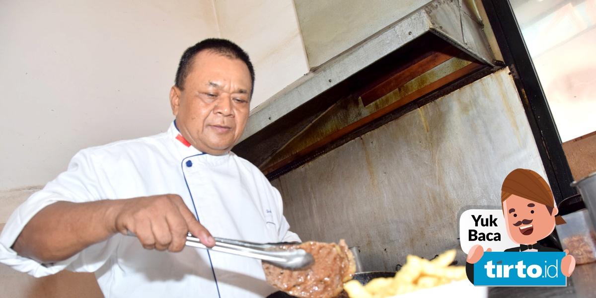 Tekanan Untuk Chef Dari Panci Melayang Atau Sayatan Mandau Tirtoid