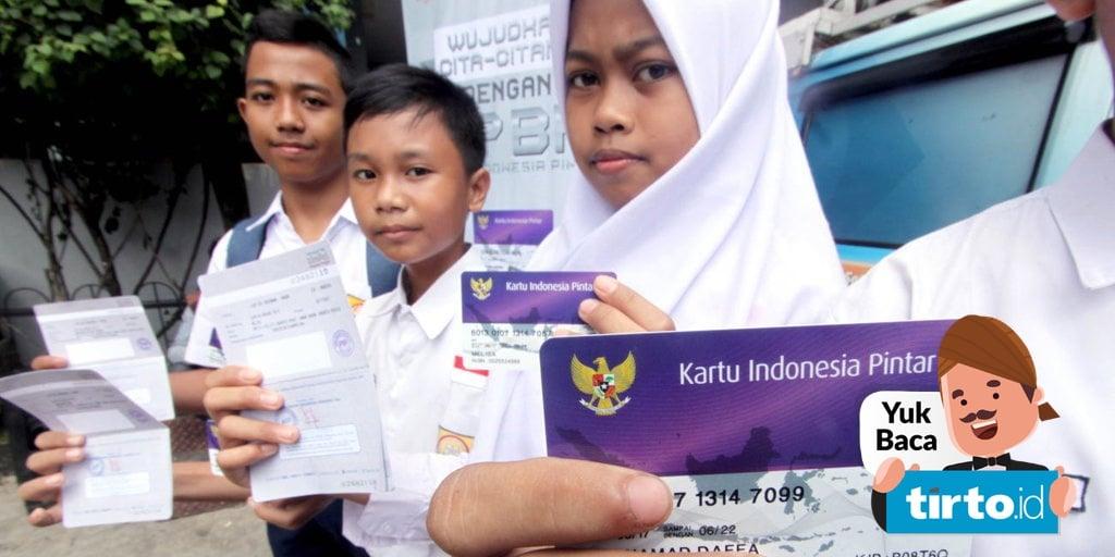 Cara Cek Penerima Program Indonesia Pintar Pip Sd Smp Sma Smk Tirto Id