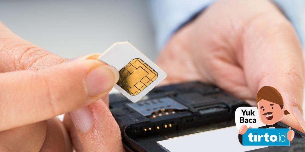 Cara Registrasi Kartu Prabayar Melalui Online Sms Ke 4444 Tirto Id
