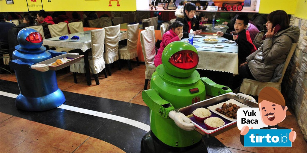 Pekerja Restoran Cepat Saji Terancam Tergusur Oleh Robot Tirto Id