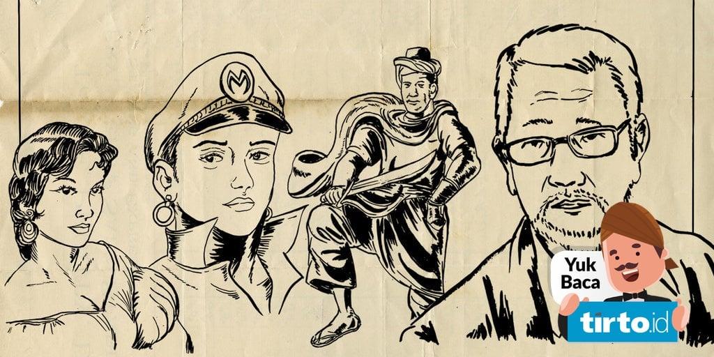 Taguan Hardjo Mengawinkan Cerita Gambar Ciamik Riset Pada Komik Tirto Id