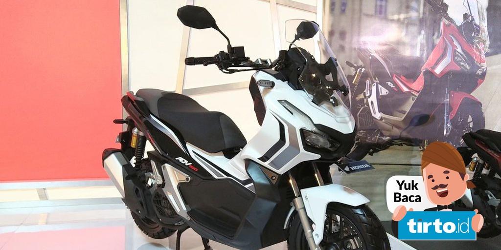 Honda Adv150 Skutik Penjelajah Canggih Harga Rp30 Jutaan Tirto Id