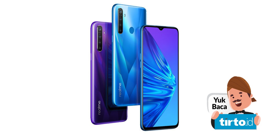 Realme 5 Dan 5 Pro Meluncur Di India Dengan Harga Mulai Rp2 Juta Tirto Id