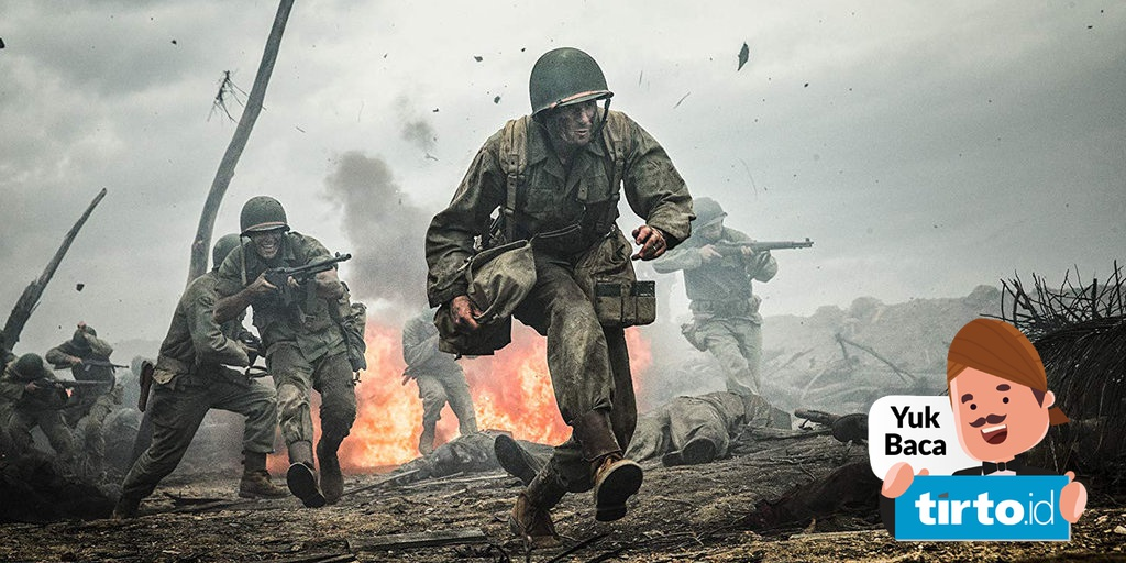 Sinopsis Hacksaw Ridge Film Tentara As Yang Menolak Pegang Senjata Tirto Id
