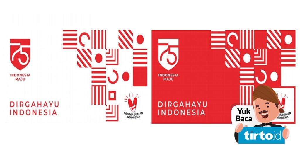 Logo Tema Dan Agenda Hut Ri Ke 75 Yang Dirayakan Besok 17 Agustus Tirto Id