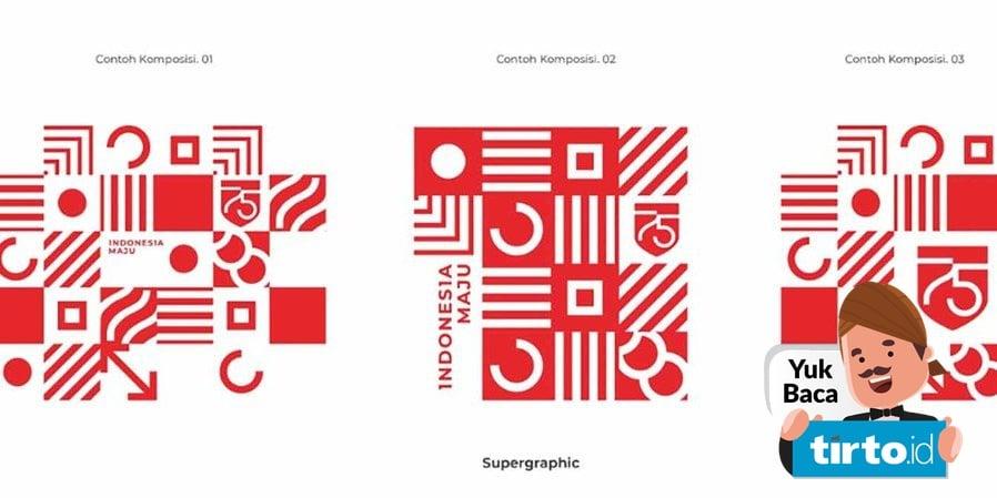 logo 75 simbol ratio